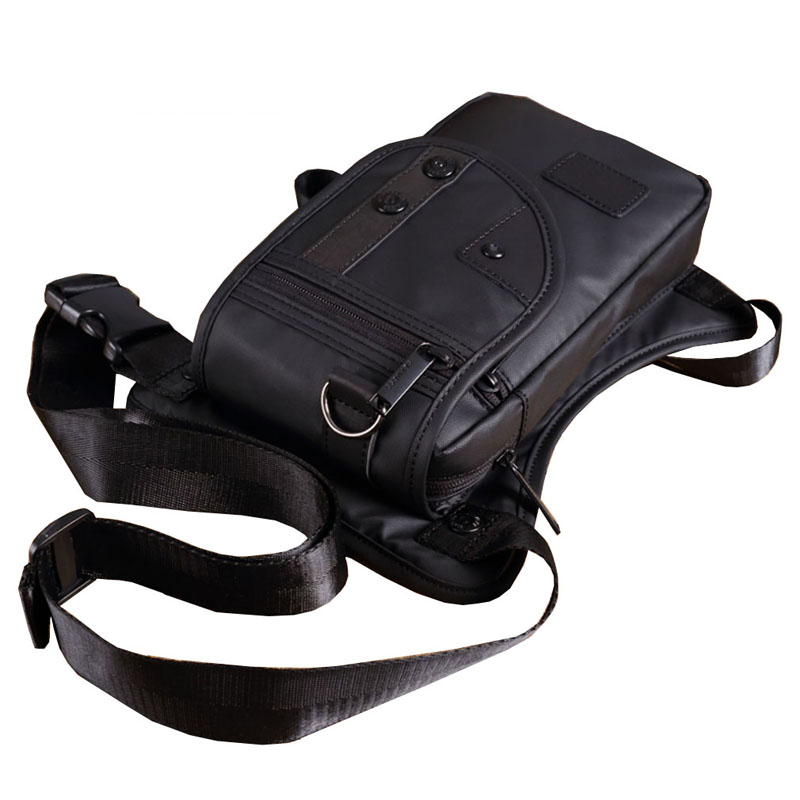Men Oxford/Nylon/Canvas Drop Leg Bag Hip Belt Bum Waist Fanny Pack Crossbody Shoulder Bag for Travel Tactical Motorcycle Cycling