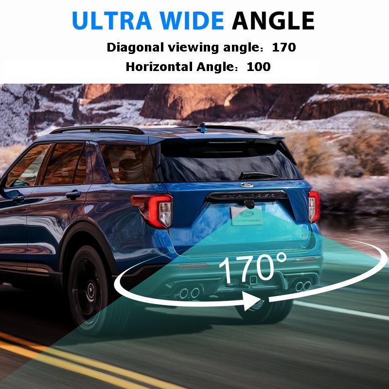 XYCING 170 Degree Angle HD Car Rear View Camera for Parking Assistance with Night Vision and Fisheye Lens 2