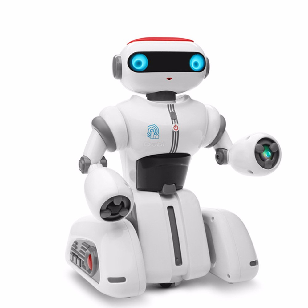 SHAREFUNBAY F12 rc robot fingerprint recognition intelligent multi-function barrier robot interactive entertainment kids toys