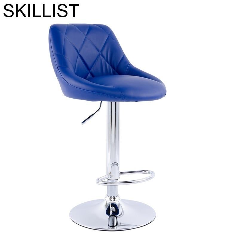 Tabouret De Industriel Banqueta Stoelen Stuhl Sgabello Para Barra Cadir Sandalyesi Leather Stool Modern Silla Cadeira Bar Chair