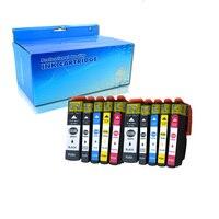 10PK Epson T3351 T3361 uyumlu mürekkep kartuşu için Epson XP-530 XP-630 XP-830 XP-635 XP-540 XP-640 XP-645 yazıcı