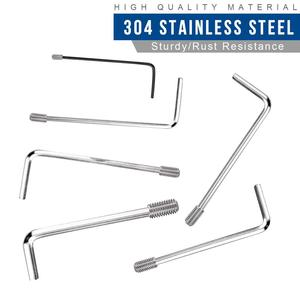 Image 4 - 666pcs Hex hexagon socket set screw flat point stainless steel grub screw assortment kit M2 M3 M4 M5 M6 M8 headless set screw