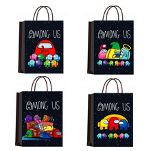 Paper Decoration-Supplies Gift-Bag Favor Birthday-Party Among Us Kids Cartoon 21--15--8cm