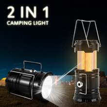 LED Flame Lantern Tent Light Outdoor Camping Portable Lighting Household Emergency Flashlight Need Battery