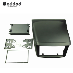 Image 1 - For Mitsubishi Pajero Sport Triton L200 Radio DVD Stereo Panel Dash Mounting Installation Trim Kit Face Frame Fascia with box