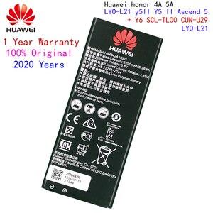 Image 1 - 100% מקורי סוללה עבור Huawei honor 4A כבוד 5A LYO L21 y5II Y5 השני Ascend 5 + Y6 SCL TL00 CUN U29 2200mAH HB4342A1RBC
