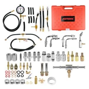 Image 3 - TU 443 Universal Car Diesel Fuel Pressure Gauge Tester Sensor Kit Auto Manometer Engine Testing Fuel Injection Pump 0 140PSI