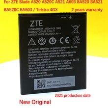 2400mAh Bateria Li3824T44P4h716043 Para Lâmina ZTE A520 A520C A521 A603 BA520 BA521 BA520C BA603 / Telstra 4GX Reforçada