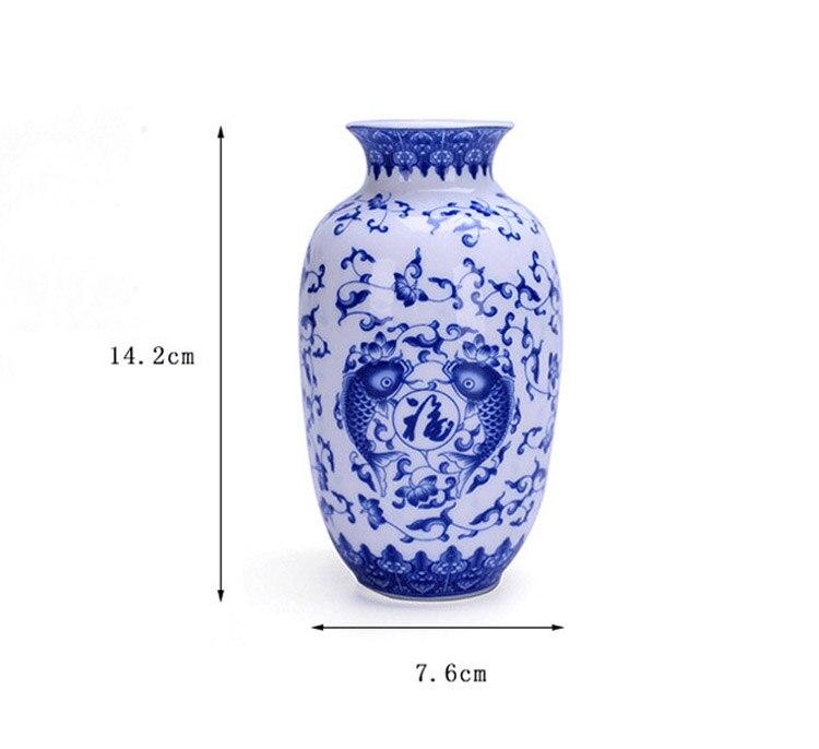 Vintage Home Decor Ceramic Flower Vase 5