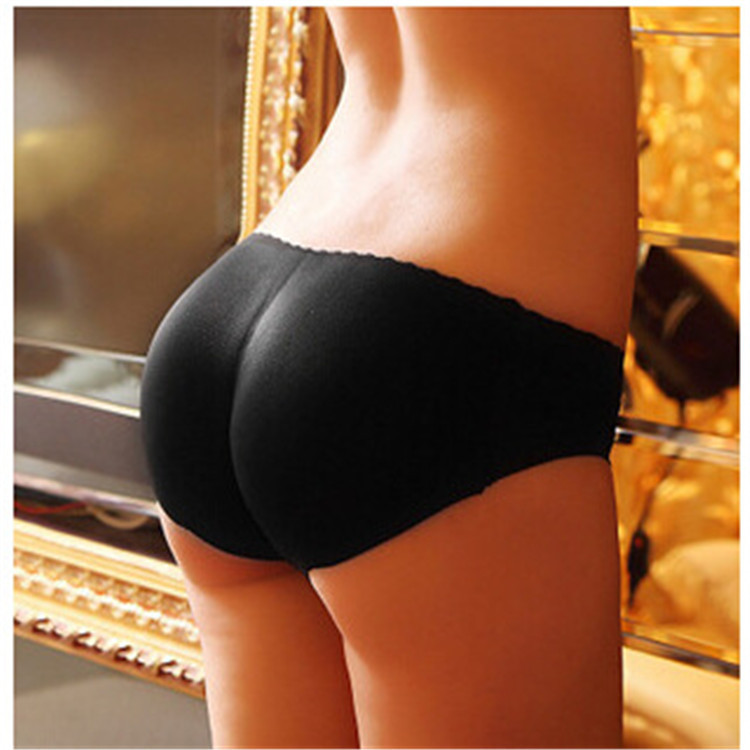 Solid Seemless Belly Holding Fake Hip Exaggerates Hips Buttock Lifting Bikini Leggings Knicker Padded Peach Hip Fake Butt Women'