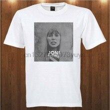 Joni mitchell camiseta s m l xl 2xl 3xl cantor folk rock compositor
