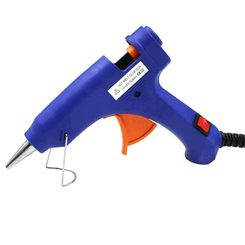 20W Mini Hot Melt Glue Gun Suitable For DIY Handworking Craft Projects Sealing And Quick Daily Repairs