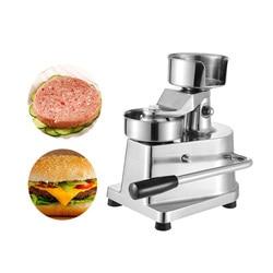 ITOP 100mm-130mm Manual Hamburger Press Burger Forming Machine Round Meat shaping Aluminum Machine Forming Burger Patty Makers