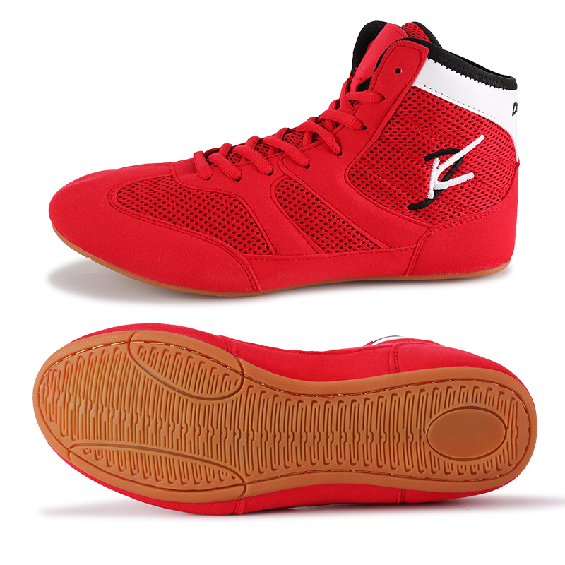 New Wrestling Shoes Big Size 35-46 Breathable Boxing Shoes Men Light Weight Wrestling Sneakers Quality Boxing Footwear Male
