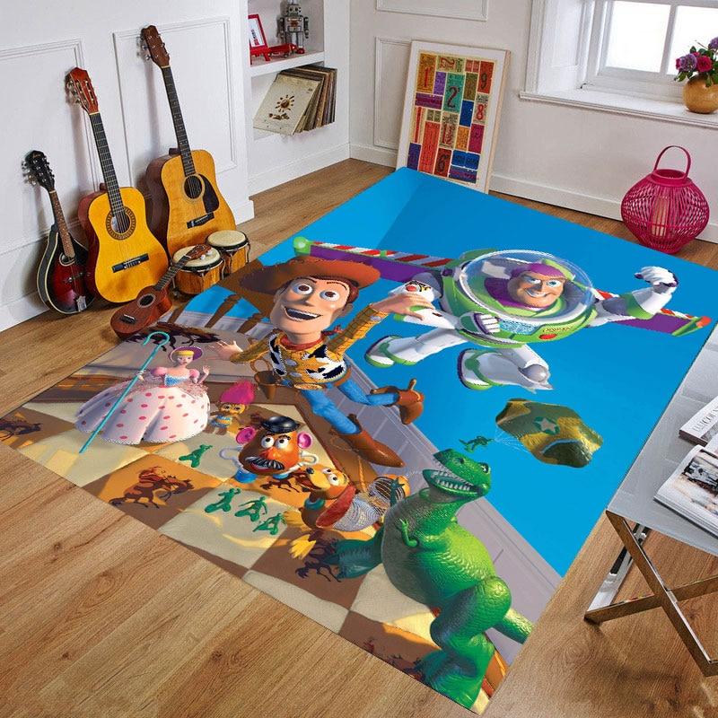 Cartoon Baby Play Mat Thickening Eco-friendly Resin Children Playmat Cartoon Non-slip Carpet Living Room Mat Birthday Gift