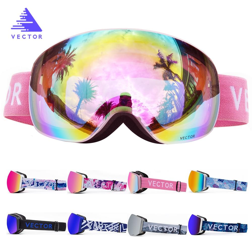 Ski Goggles Brand Double Layers UV400 Anti-fog Big Ski Mask Glasses Skiing Men Women Winter Snow Snowboard Goggles