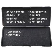 96 111 LiShi 2 In 1 2in1 DAT12R HU71 K5 Ford2017 Kia2018 SX9 TOY2018 TOY47 HON77 YH65 ISU5 Ign HU134 NSN14Rเครื่องมือช่างกุญแจ