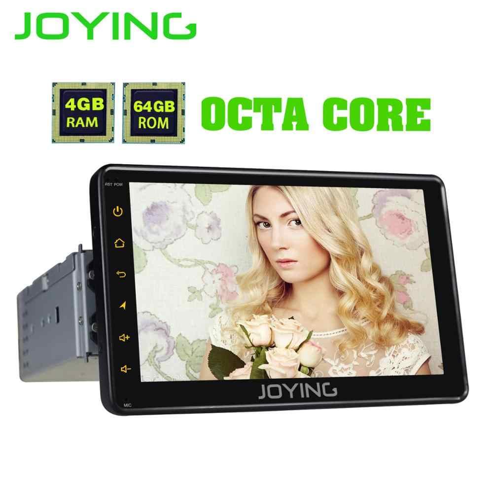 JOYING 8 コア 4 1G の RAM アンドロイド 8.1 カーラジオ 1 din 7/8/9/10.1 インチカーステレオ画面 64 グラム ROM GPS ナビゲーションヘッドユニット WIFI Carplay