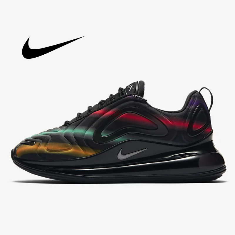 outlet store 9693d f95bc US $70.51 56% OFF|Original Nike Air Max 720 Women Running Shoe Breathable  Athletic Sports Sneakers Comfortable Fashion 2019 New Arrival AR9293 102-in  ...