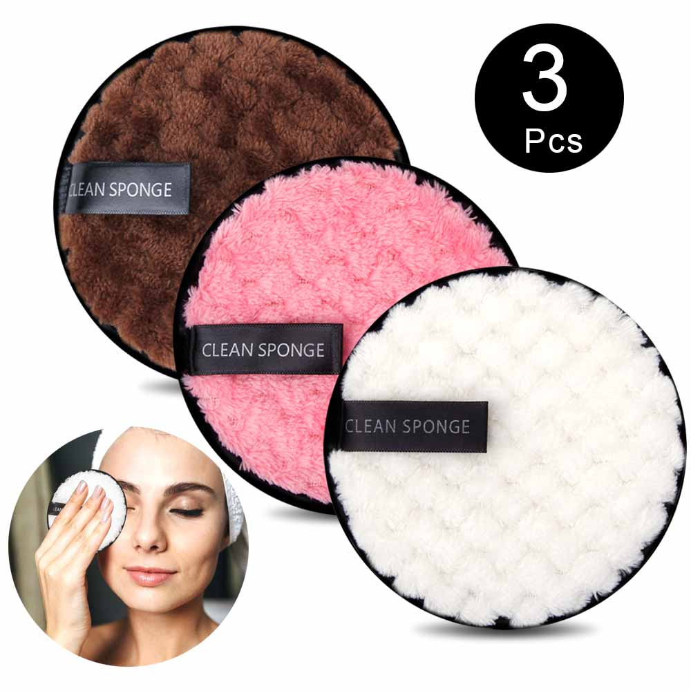 Многоразовые салфетки из микрофибры для снятия макияжа и ухода за лицом