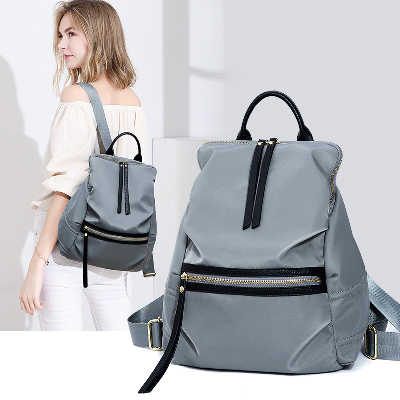 MR L Fashion Women Backpack High Quality Youth Oxford Backpacks for Teenage Girls Female School Shoulder Big Bag Bagpack Mochila in Backpacks from Luggage Bags