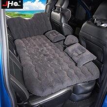JHO cubierta para asiento trasero de coche inflables para viajar sofá cama del colchón al aire libre cojín para acampar para Ford Raptor explorador Grand Cherokee