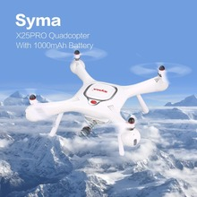 Syma X25PRO 2.4G GPS Positioning FPV RC Drone Quadcopter with 720P HD Wifi Adjustable Camera Altitude Hold Follow Me Gift syma x8sw d