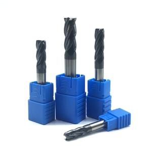 Image 4 - Endmills 4 مللي متر 5 مللي متر 6 مللي متر 8 مللي متر 12 مللي متر 4 الناي HRC50 كربيد endmill آلة التنغستن الصلب cnc قاطعة المطحنة نهاية مطحنة آلة أدوات