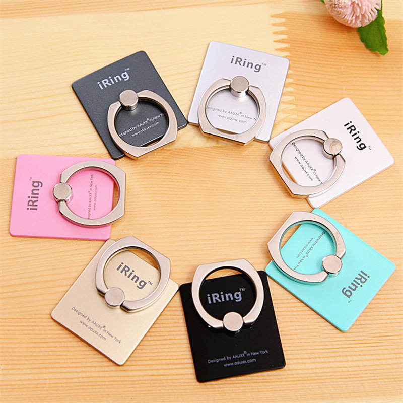 phone Holder Universal Mobile Phone iRing 3D Stand Finger Grip Stand For iPhone 11 pro max XS 8 7 plus Finger Ring Holder