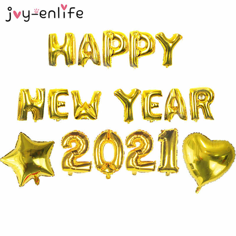 18pcs happy new year 2021 gold sliver foil balloons new year eve party decor navidad 2020 gift merry christmas ballon decoration ballons accessories aliexpress 18pcs happy new year 2021 gold sliver foil balloons new year eve party decor navidad 2020 gift merry christmas ballon decoration