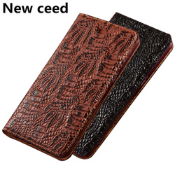 На Алиэкспресс купить чехол для смартфона luxury business fundas genuine leather magnetic case for oppo realme x50 pro 5g phone case for oppo realme x50 5g phone cover