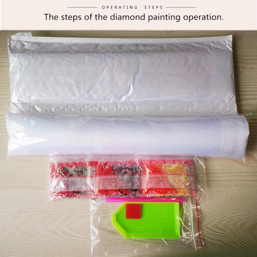5D יהלומי ציור נוף ציור שלג בעלי החיים סוס DIY תפר צלב להדביק יהלומים פסיפס דפוס דקורטיבי ציור בית