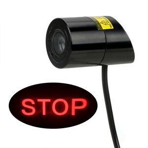 Image 4 - FORAUTO voiture LED lumière de Projection avertissement Laser queue Logo projecteur Auto frein lampe de stationnement arrêt garder espace signe voiture style