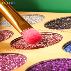 Image 5 - Docolor Glitter Eyeshadow Palette 15 Colors Heat Shimmer Makeup Palette Highly Pigmented Professional Eye Shadow Powder Cosmetic