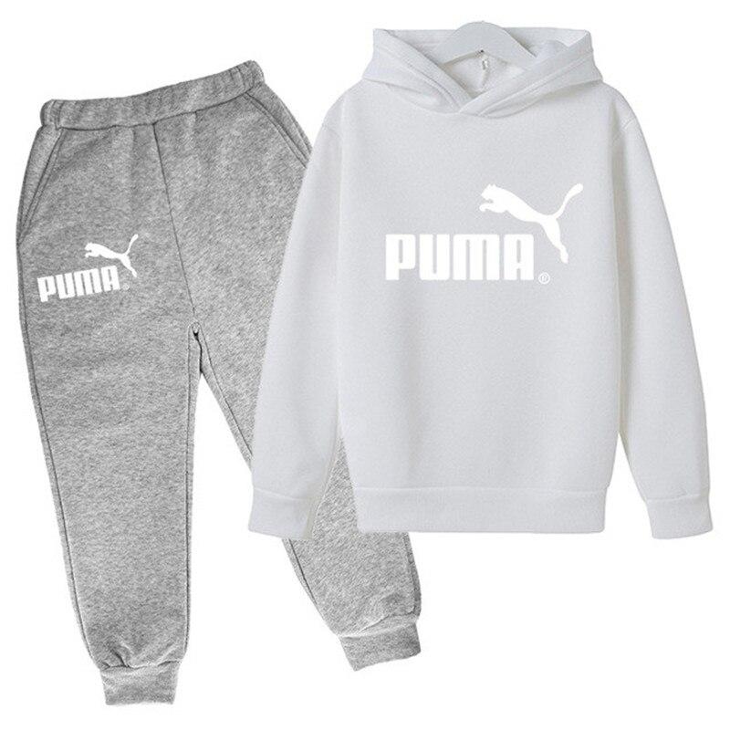 Crianças hoodies conjunto childen carta hoodies definir meninos adolescentes solto esporte tops primavera manga longa camisolas 4-14 anos roupas