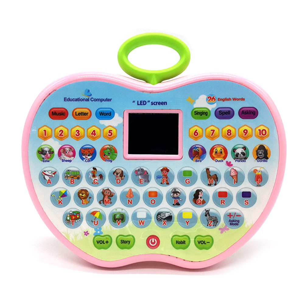 Children Learning Machine Kids <font><b>Toys</b></font> Educational <font><b>Laptop</b></font> Portable Learning Tablet Educational <font><b>Toy</b></font> For Kids image