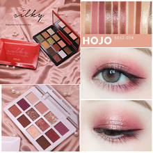 HOJO 12 Colors Light Luxury Magazine Eyeshadow Palte Matte Pearlescent Natural Eyeshadow Palette