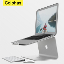 Aluminum Tablet Laptop Stand Notebook Holder For Macbook Air Pro Notebook Support Cooling Pad Mount For HP Dell
