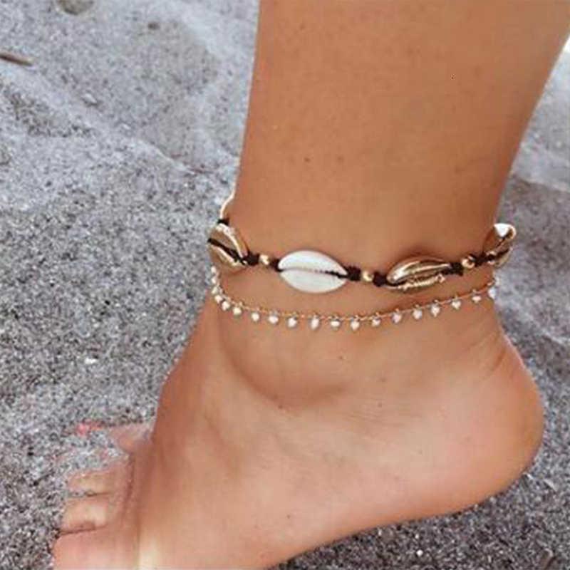 2019 Nueva Concha chaude conque Chooker collier fille Vintage vêtements accessoires Scout déclaration Multi couche été plage bijoux