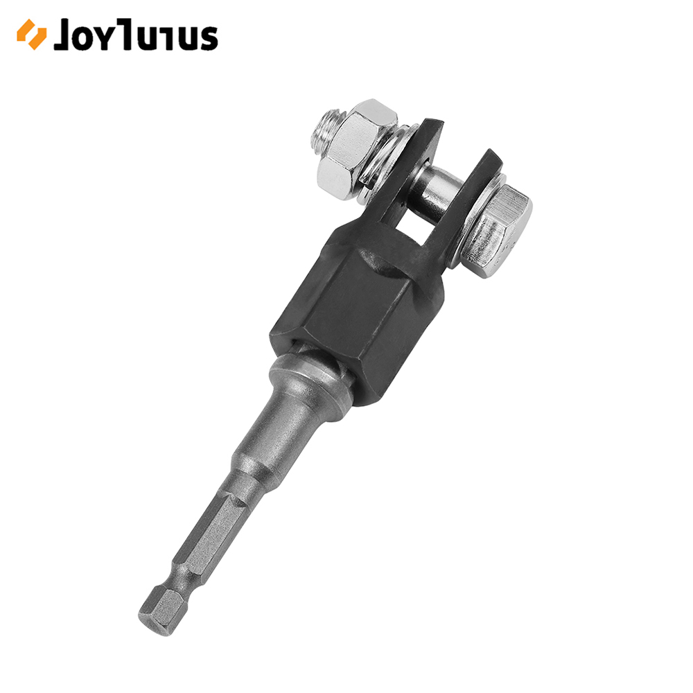 Scissor Jack Adapter With 1/2 Inch Chrome Vanadium Steel Socket Adapter Drive Impact Wrench