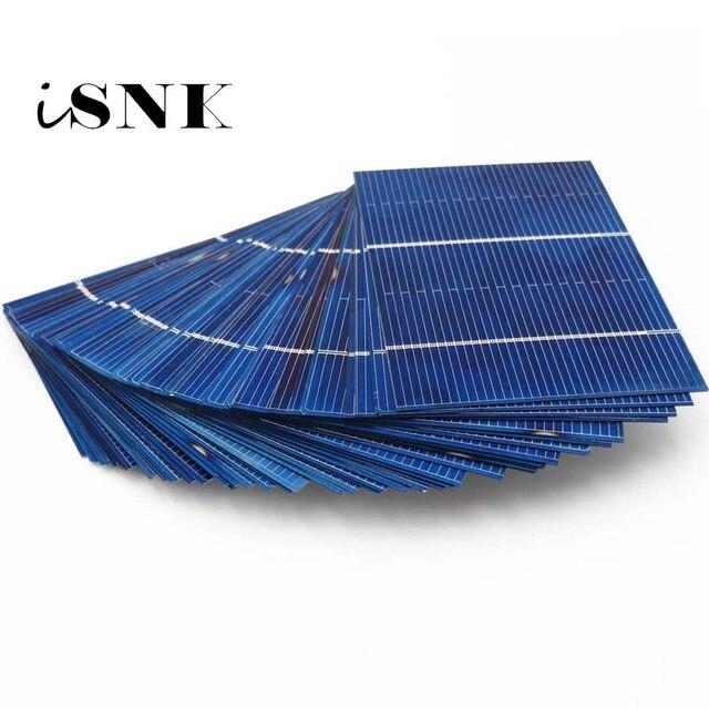 50 sztuk/partia 39 78 52 77 156 125 Panel słoneczny ogniwa słoneczne DIY polikrystaliczny moduł fotowoltaiczny DIY ładowarka solarna
