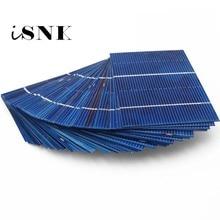 50PCS/LOT 39 78 52 77 156 125 Solar Panel Solar Cells DIY Polycrystalline Photovoltaic Module DIY Solar Battery Charger