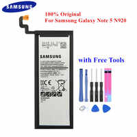 100% Original Battery EB-BN920ABE for Samsung Galaxy Note 5 SM-N920 N920F N920T N920A N920I N920G N9200 N920G/DS 3000mAh Akku
