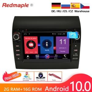 Image 2 - 4G RAM אנדרואיד 10.0 רכב רדיו DVD נגן GPS מולטימדיה סטריאו עבור פיאט דוקאטו 2008 2015 סיטרואן Jumper פיג ו בוקסר ניווט