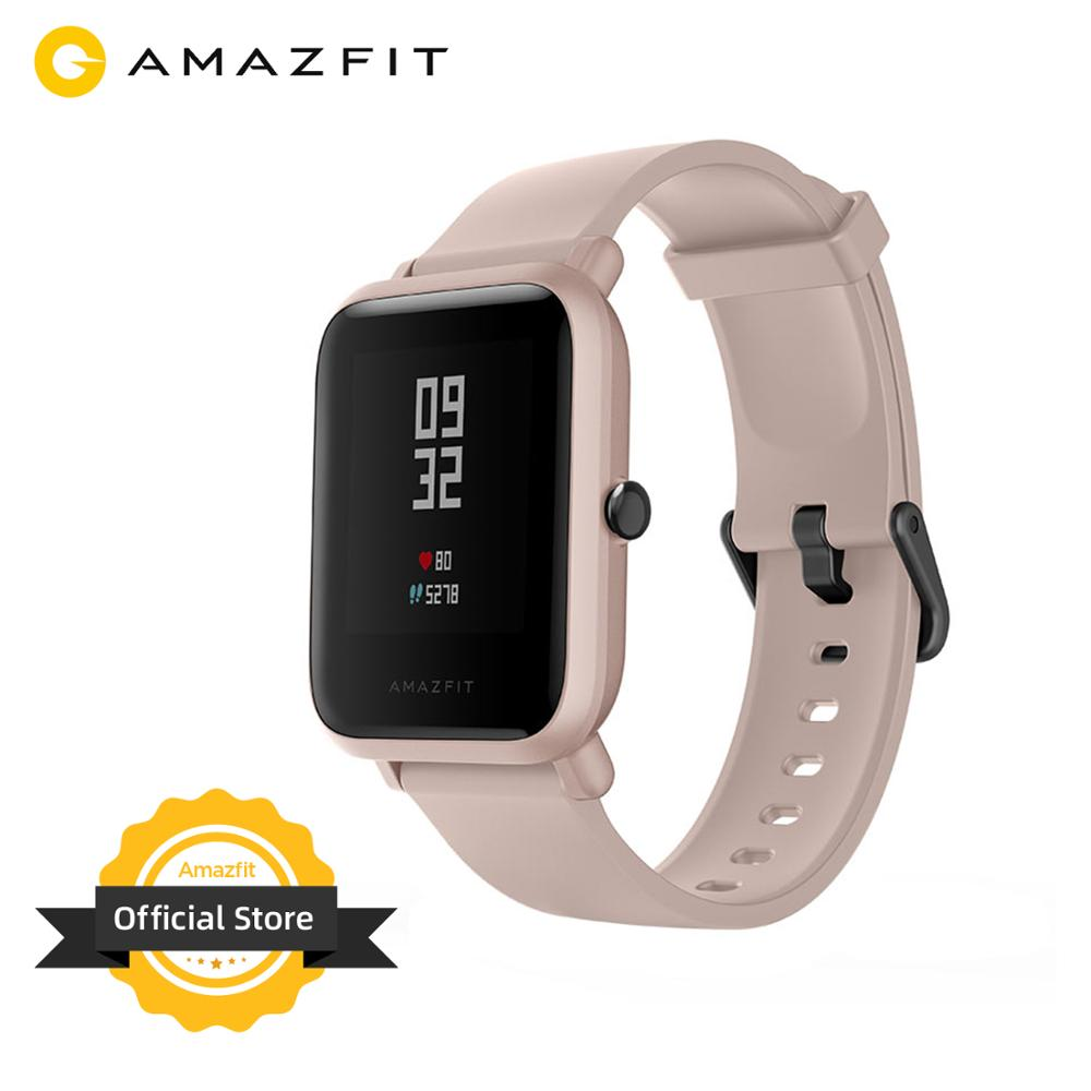 In Stock Global Version Amazfit Bip Lite Smart Watch 45-Day Battery Life 3ATM Water-resistance Smartwatch For Android New 2019(China)