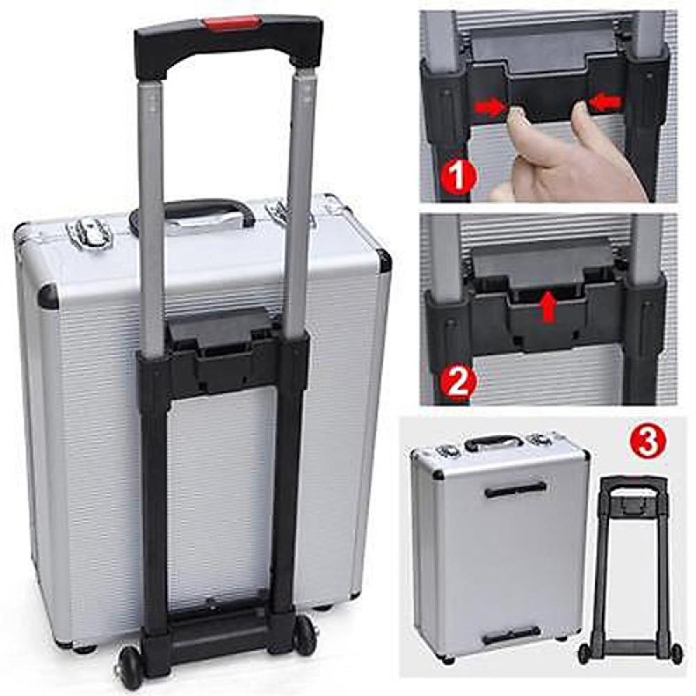 Case US Kit Tool Organize Set Castors New 599pcs Trolley Toolbox Mechanics Box