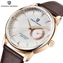 Часы наручные pagani Мужские кварцевые брендовые водонепроницаемые