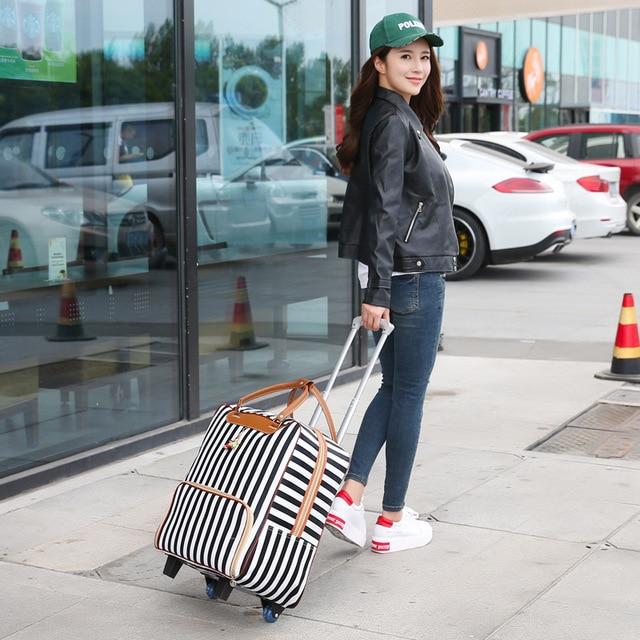 Universal Women's Waterproof Wheel Suitcase