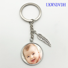 2019 handmade custom photo family father mother mother brothers and sisters family portrait keychain недорого