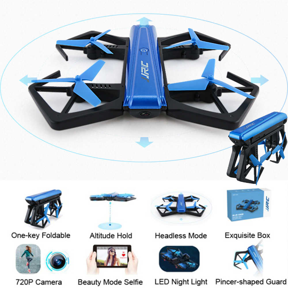 JJRC H43WH Mini RC Drone With HD Camera WiFi APP Control Foldable Helicopter Video Transmission Portable Quadcopter For RC Toy